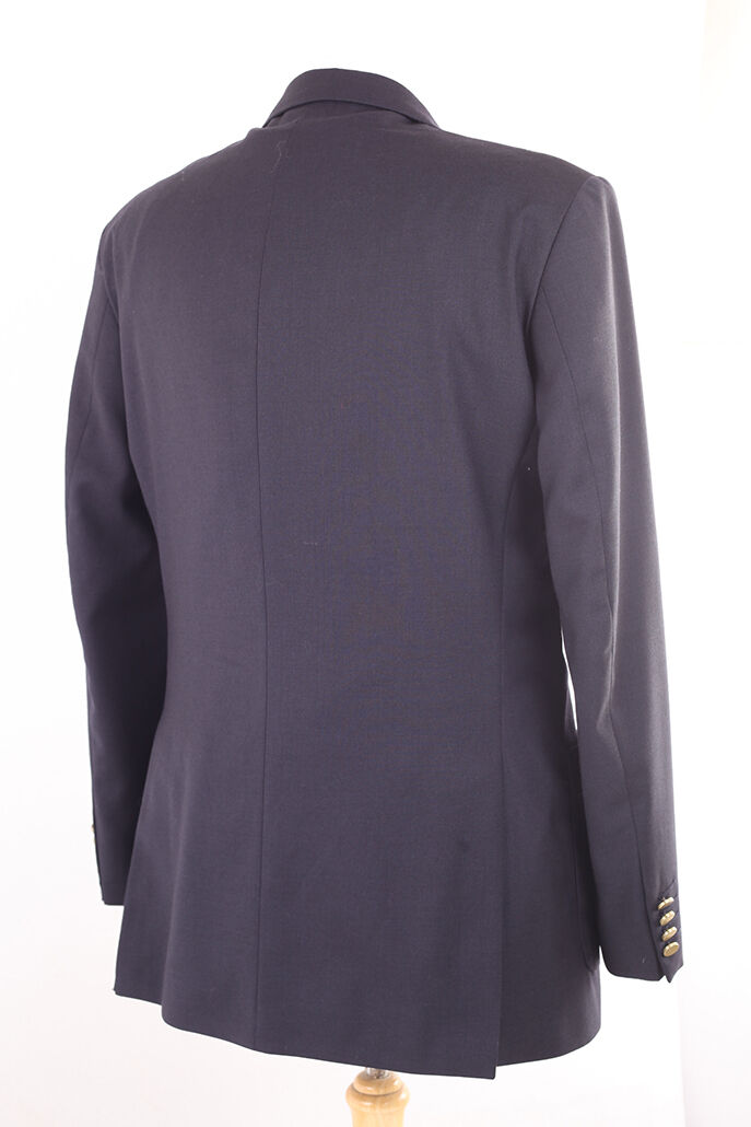 M&s laine bleu marine laine M&s & cachemire Homme Blazer Veste de tailleur 40 L sèche-nettoyer e195c6
