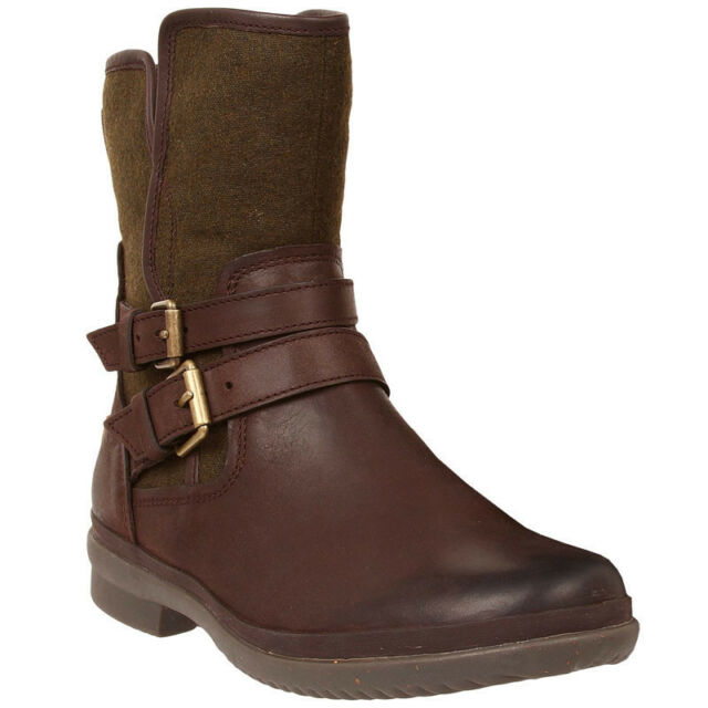 f92c7a473d3 UGG Australia Simmens Leather Fashion Ankle BOOTS 7