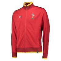 Adults Small Wales Rugby Track Jacket 15/16 Red H107