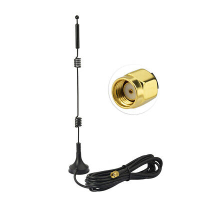 RP-SMA Male 2.4GHz 9DBI Wireless Wifi WLAN Router Signal Range Booster Antenna