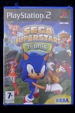 PS2 : SEGA : SUPERSTARS TENNIS - Nuovo, risigillato, ITA ! Un folle tennis !