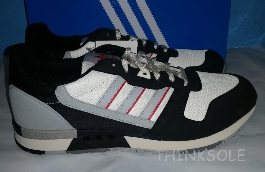 ADIDAS CONSORTIUM ZX BLACK 550 OG B35600 GREY RED BLACK ZX RETRO TRAINERS 66f022
