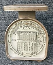 Vintage 1968 Pelouze Model Y 5 5 Lb Mechanical Usps Postal Weight Scale Euc