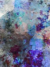 ART PRINT POSTER PAINTING DT ABSTRACT SHADE LIGHT COLOUR LFMP0348