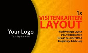 Details Zu 1x Visitenkarten Layout Firmengründung Visitenkarte Layout Vorder Rückseite