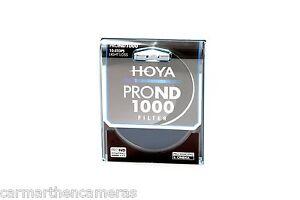 Hoya 55mm Pro ND 1000 Filter for SLR, Nikon, Canon