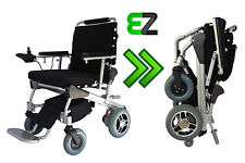 EZ Lite Cruiser Deluxe DX10 Light Folding Electric Wheelchair - 15 Ah Battery