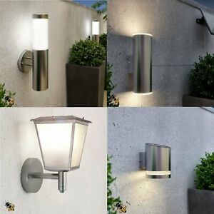 Details About Solar Ed Outdoor Wall Lights Stainless Steel Garden New