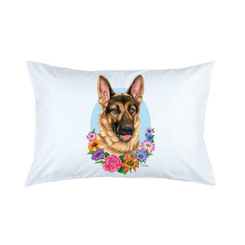 German Shepherd Micro Fiber Pillowcase