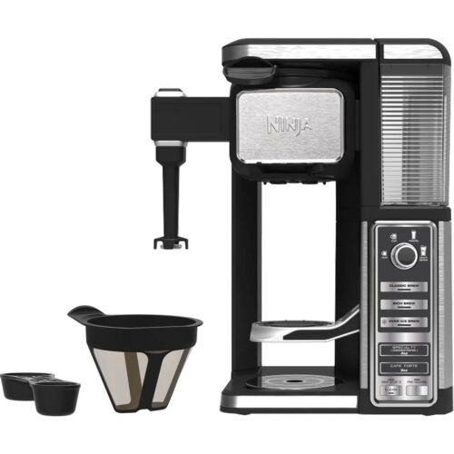 Ninja-Single-Serve-Coffee-Bar-Machine-Pod-Free-Coffee-Maker-System-with-Frother