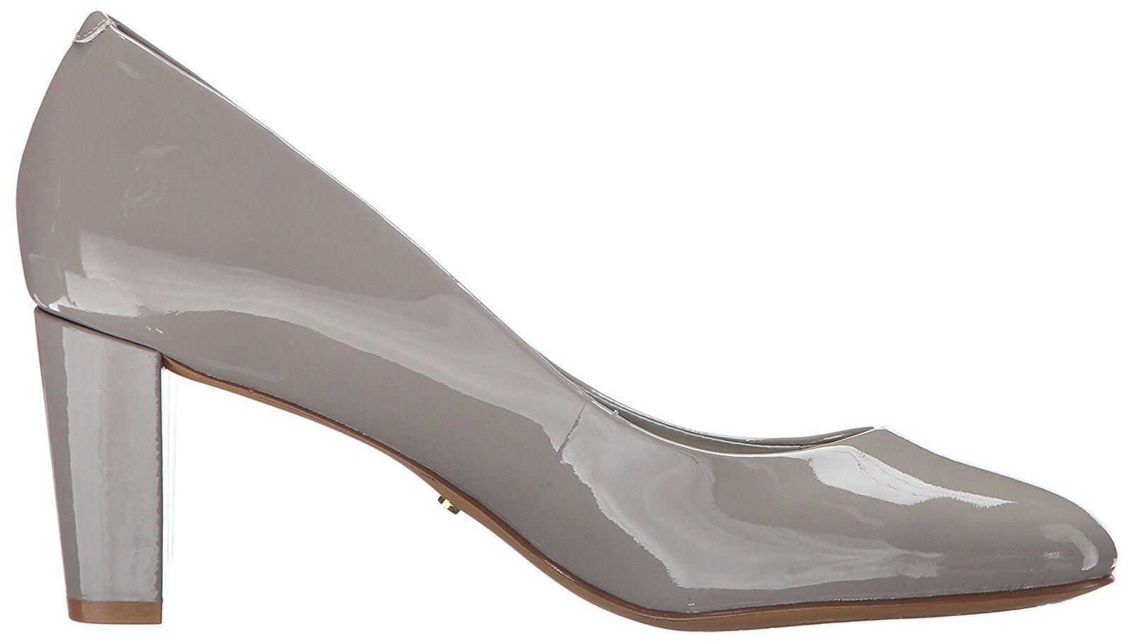 Ralph Closed Lauren Damenschuhe Hala Stone Claret Leder Closed Ralph Toe Damens Schuhes Pump 3c2cc6