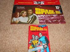 SPACE 1999 - Trading Cards Box DONRUSS 1976 + 1 WAX PACK Martin Landau ITC Bain