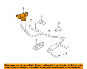 gm oem exhaust manifold 12559506 ebay rh ebay com