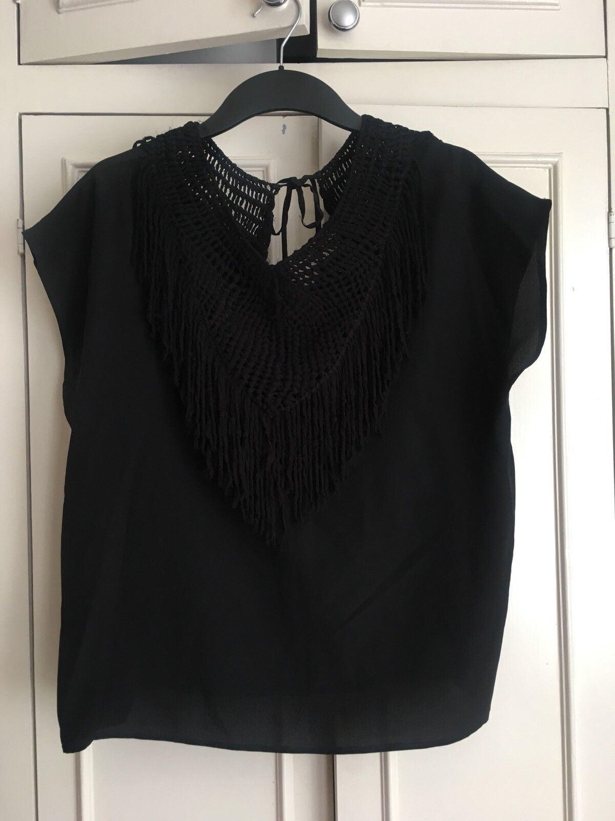 Ulla johnson Silk Top With Größe 14UK BNWT