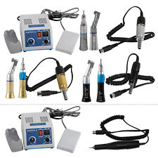 Kit Marathon Dental Lab Electric Micromotor 35krpm Straight Contra Angle E3