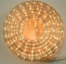 "Clear Rope Light 10x 12Ft 110V 120V 2-Wire 1/2"" Incandescent Bulbs Flexilight"