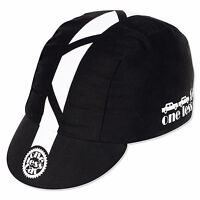 Pace 1 One Less Car Sport Cap Cycling Bike Hat Black Cotton Fixed Gear 1 Size