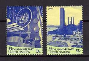 13393-UNO-ONU-US-2000-MNH-Nuovi-UNO-headquarters