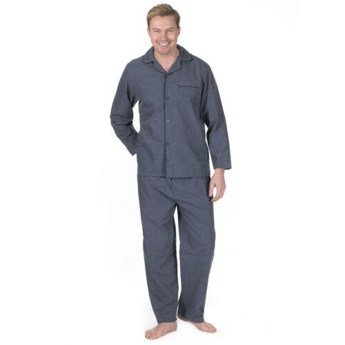 Men/'s Vintage Tartan Striped Traditional Pyjama Set Elasticated Trouser Bottoms