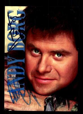 Aggressiv Andy Borg Autogrammkarte Original Signiert ## Bc 146871 Sammeln & Seltenes