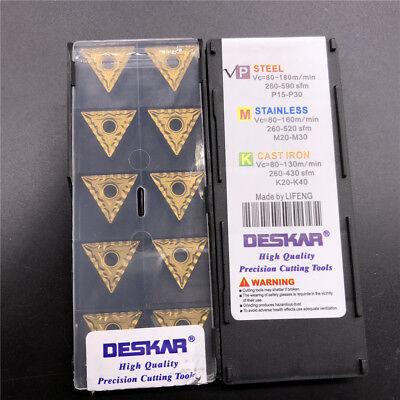 DESKAR 10pcs TNMG160412-TM LF9011 TNMG333-TM FOR steel//stainless steel cast iron