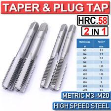 Tap M12 x 0.75 TAPER TAP /& PLUG TAP 2 pc de 4554Connect 37082
