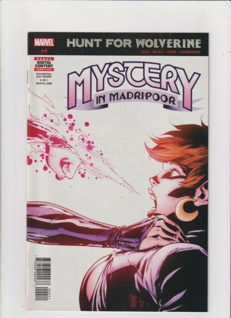 HUNT FOR WOLVERINE MYSTERY IN MADRIPOOR #4 2018 MARVEL COMICS