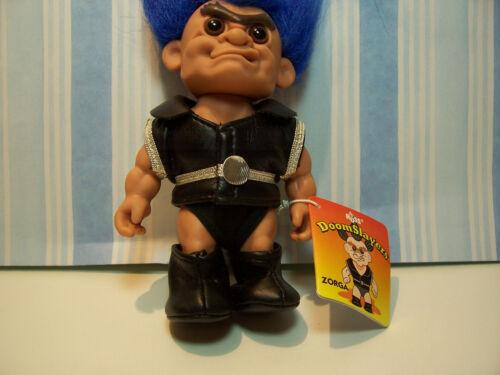 "NEW IN ORIGINAL WRAPPER w//TAG ZORGA DOOMSLAYERS TROLL 5/"" Russ Troll Doll"