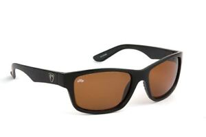 Fox Rage Eyewear Matt Black - Brown Lens / Fishing Polarised Sunglasses