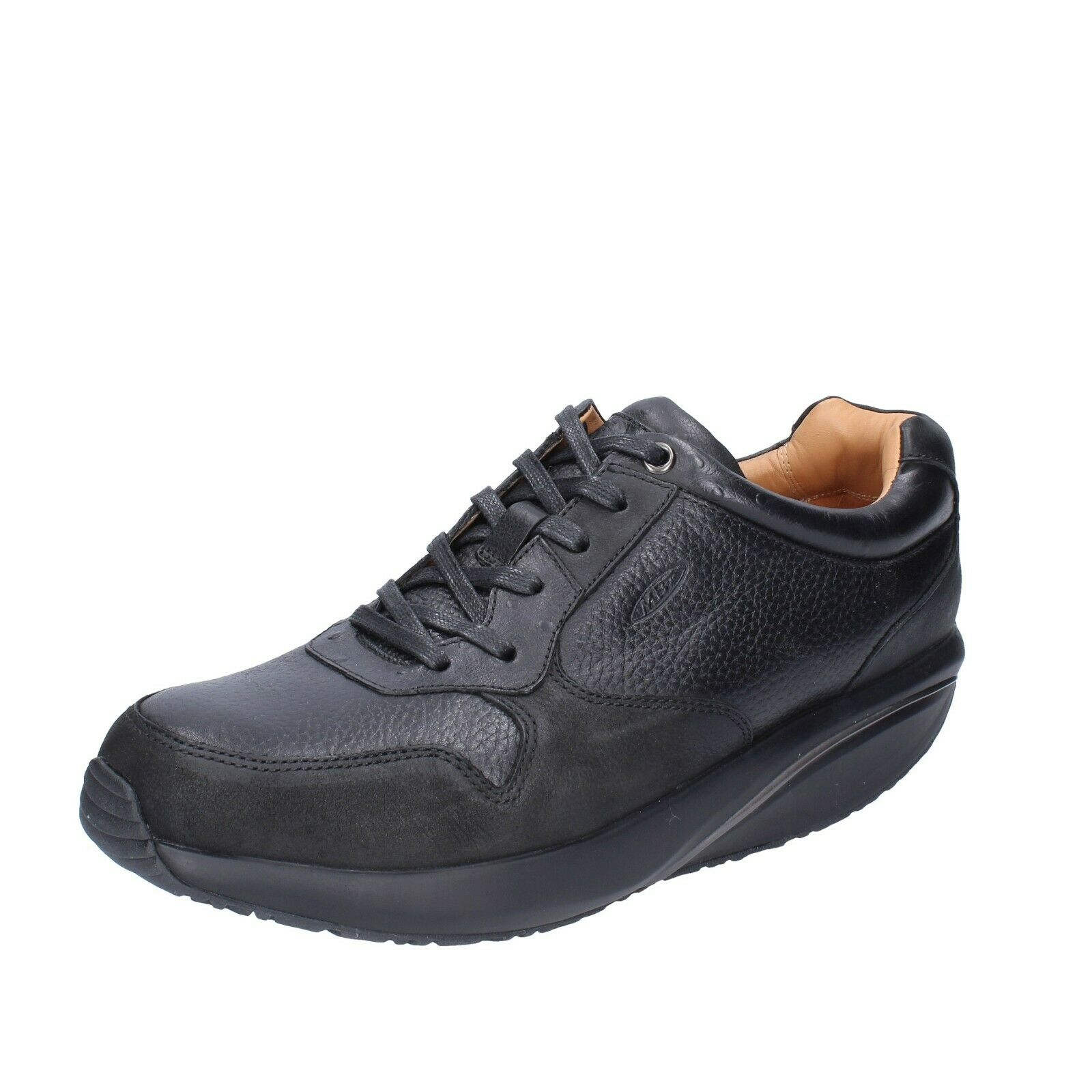 Men's shoes mbt 46 EU shoes black leather bh548