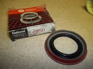 NEW Federal Mogul National Oil Seal 4950 Transmission Pump Seal  *FREE SHIPPING*