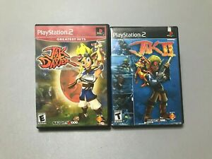 Jak And Dexter 1 Jak 2 Playstation 2 Ps2 Video Game Bundle No Manuals Ebay