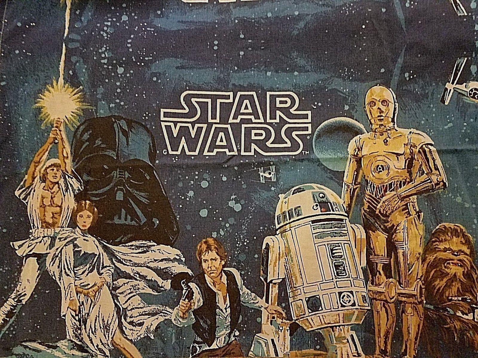 Star Wars Original Twin sheet Sets, 2 ensembles (1977)