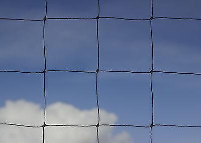 Accurato Giardino Anti Bird Net Heavy Duty Forte Un Gabbiano Mesh 75mm 4m X 15m Sottoformato-