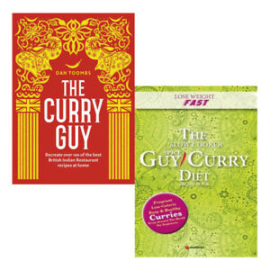 The-Curry-Guy-Lose-Weight-Fast-2-Books-Collection-Set-Slow-Cooker-Spice-NEW