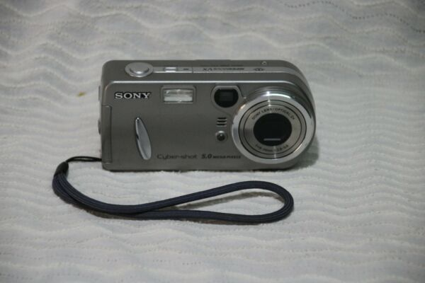 Appareil Photo Sony Cyber Shot 5.0 Mpixels Et Aide à La Digestion