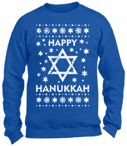 Unisex Jewish Sweatshirts for Hanukkah Sweater Jews Holiday Gifts Jewish Sweater