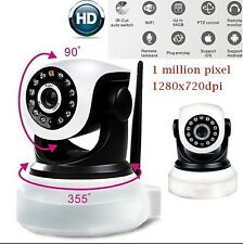 Wireless WiFi IP Camera 720P HD Indoor Security Surveillance Baby Pet Monitor UK