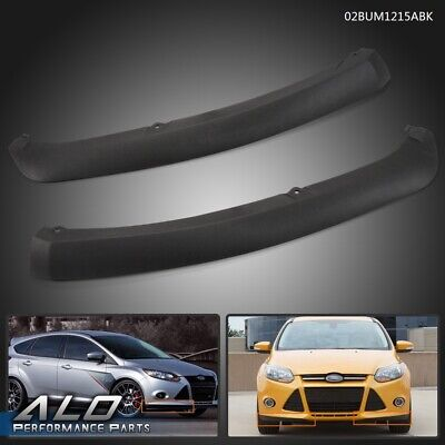 Front Bumper Spoiler O//S Right Side Ford Focus 2011-2014 Brand New High Quality