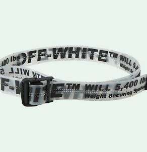39518e3d24f Image is loading Off-White-Limited-Edition-Industrial-Belt-Off-White-
