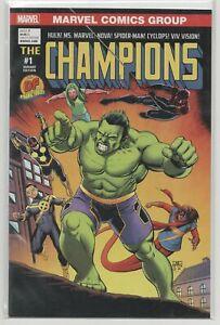 Champions-1-Dynamic-Forces-Variant-Marvel-2016-Hulk-Spider-Man-DF