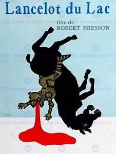 MOVIE-ADVERT-LANCELOT-DU-LAC-FILM-ROBERT-BRESSON-NEW-ART-PRINT-POSTER-CC4993