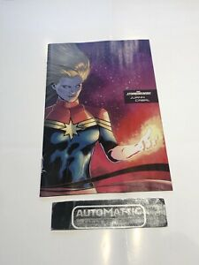 Captain Marvel #25 Stormbreaker One Per Store Variant cover storm breaker Marvel