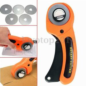 5PCS-Cutting-Blade-45mm-Rotary-Cutter-for-Fabric-Craft-Sewing-Quilting-Tool