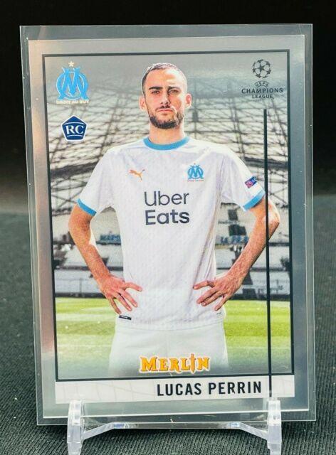 2020-21 Topps Chrome UEFA Merlin RC Lucas Perrin BASE