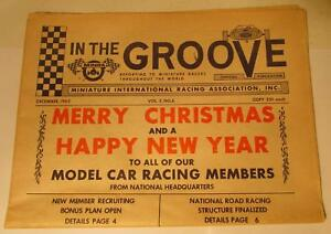 In-The-Groove-MINRA-December-1965-Slot-Racing-Promotional-Newspaper-Vol-3-No-6