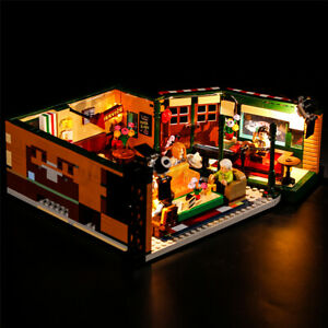 ONLY-USB-LED-Light-Lighting-Kit-For-LEGO-21319-Friends-Central-Perk-Bricks