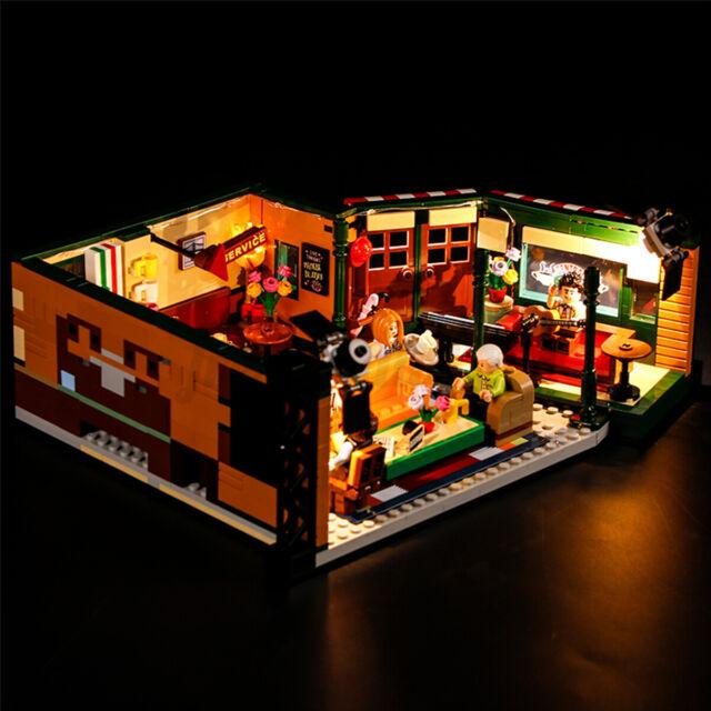 ONLY USB LED Light Lighting Kit For LEGO 21319 Friends Central Perk Bricks  ^
