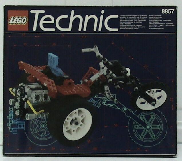 Lego Technic Modello che È in Sella Cycle 8857 Strada Chopper Nuovo Imballato