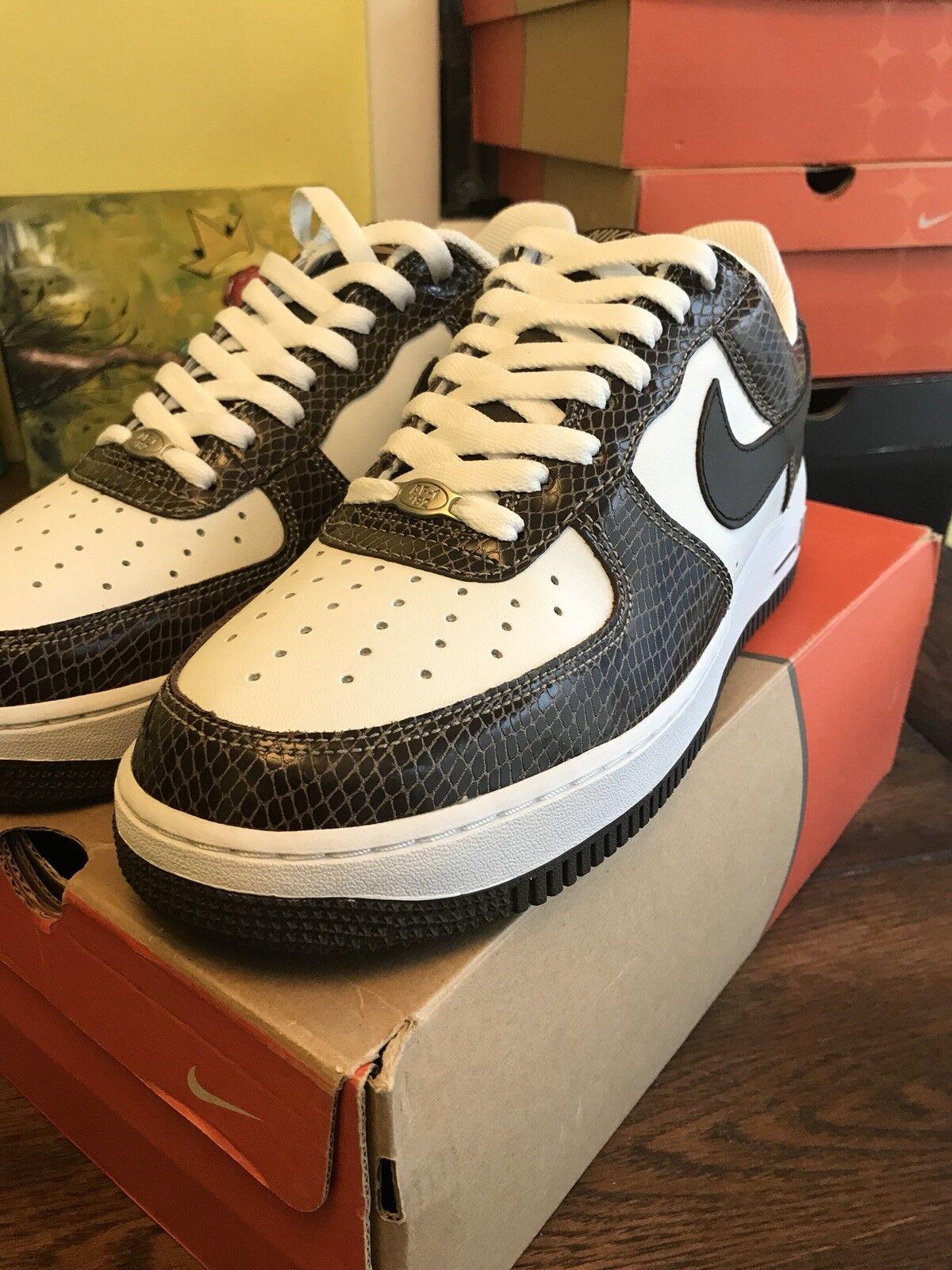 04 Nike Air Force 1 Premium Snakeskin